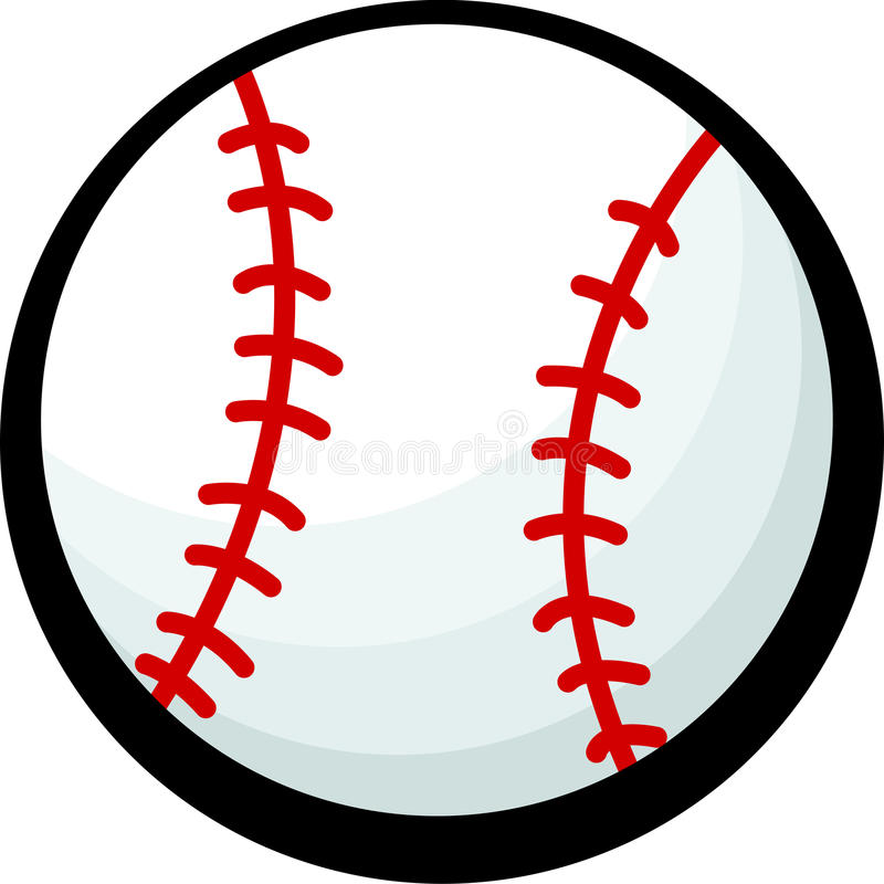 baseball vector illustration royalty free illustration