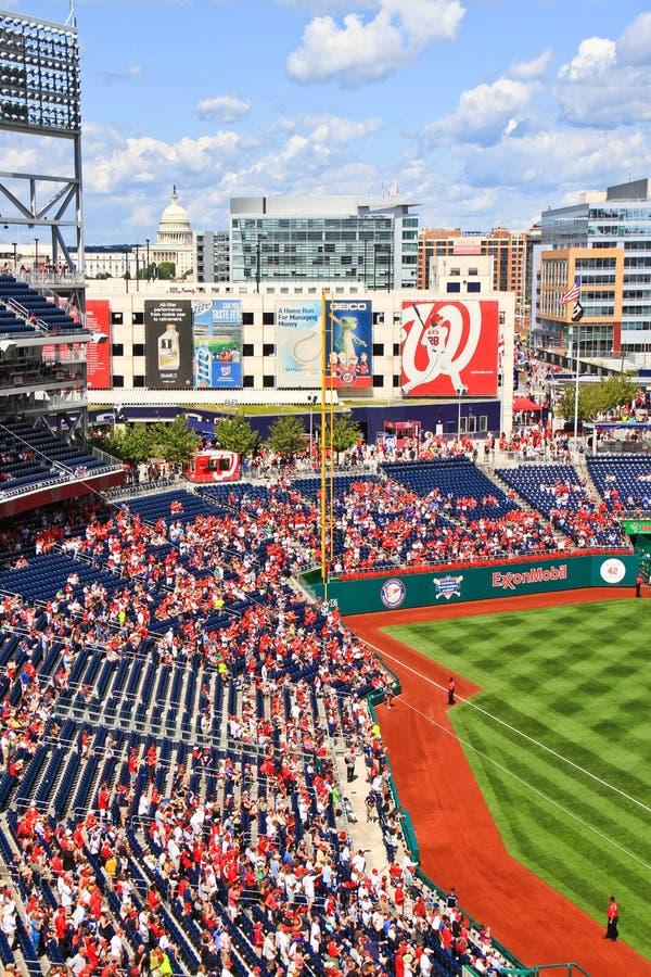 Baseball in Washington, Gleichstrom stockbild