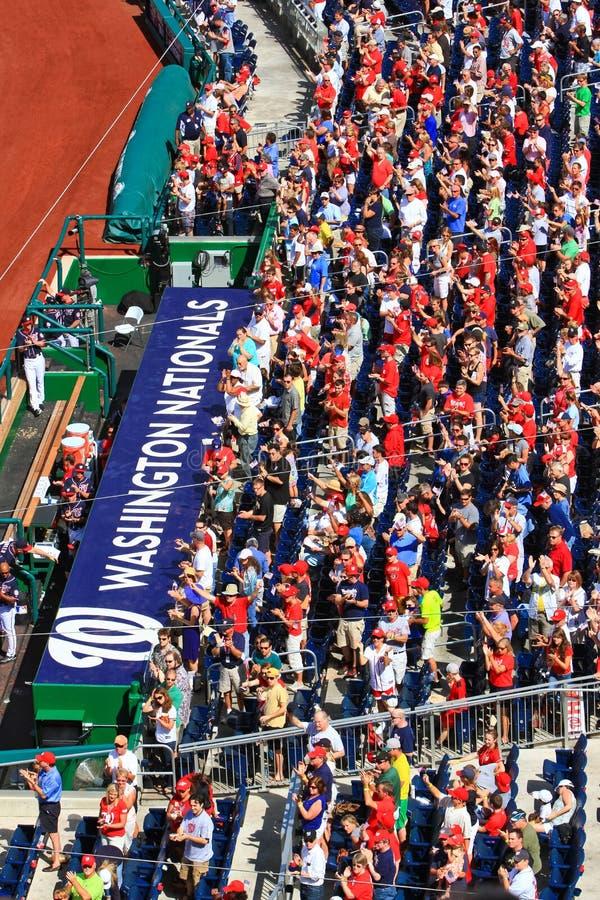 Free Baseball Washington Nationals Fans Stock Images - 26661574
