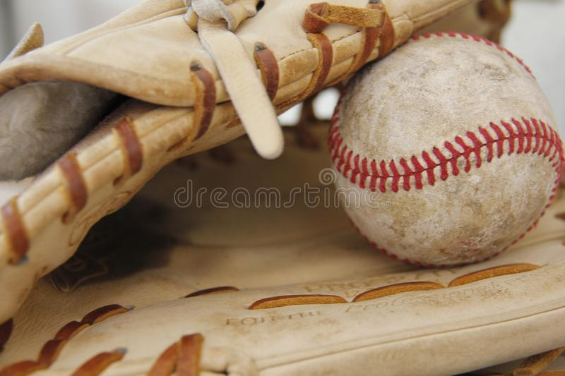 Baseball-Wesensmerkmale stockbild