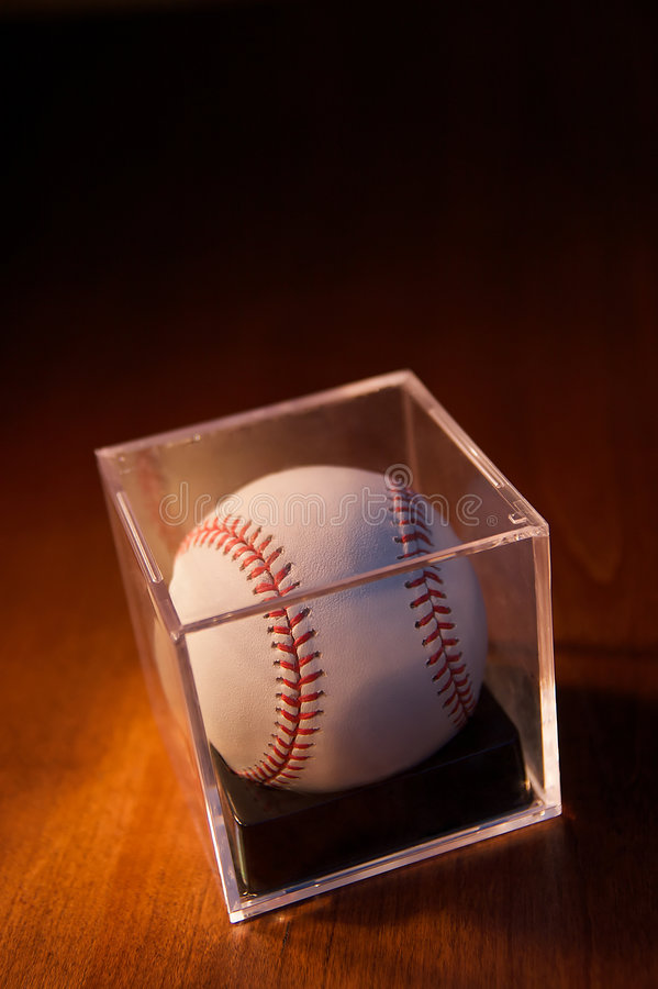 Download Baseball On Wood Background Stock Photo - Image: 8073168