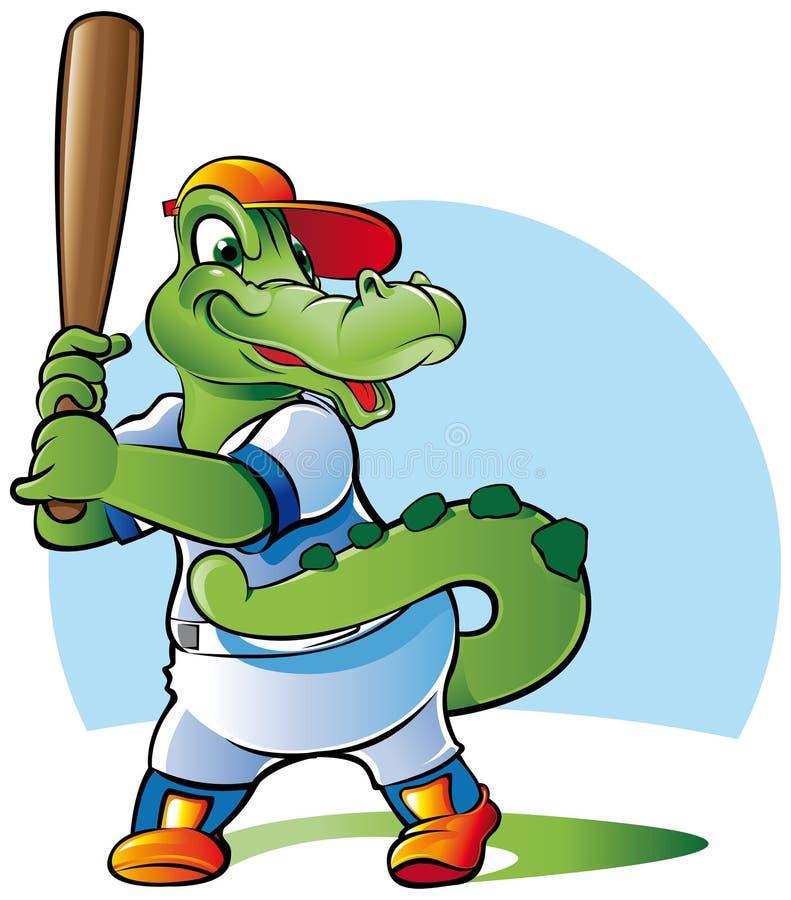 baseballa ciasto naleśnikowe royalty ilustracja