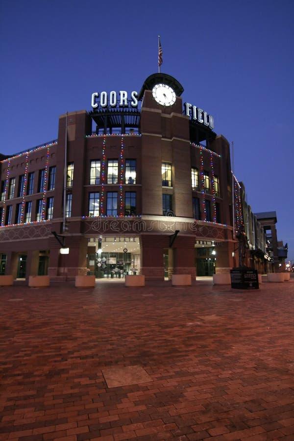 baseballa Colorado coors śródpolni Rockies obrazy royalty free