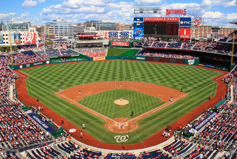 Baseballa Dzień Gemowi Waszyngtońscy Obywatele