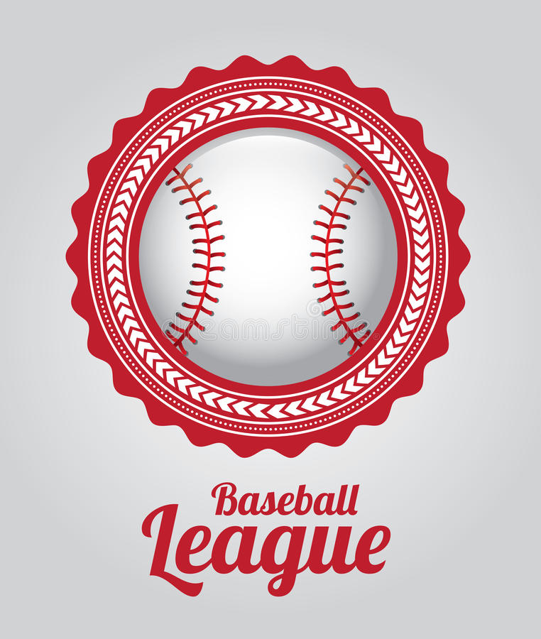 Baseballa liga ilustracja wektor
