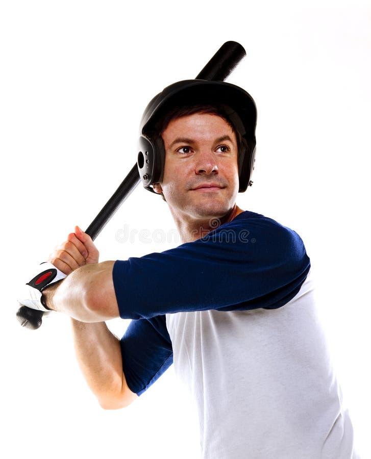 Download Baseballa Lub Softballa Gracz Odizolowywający Na Bielu Obraz Stock - Obraz złożonej z samiec, sport: 28964677