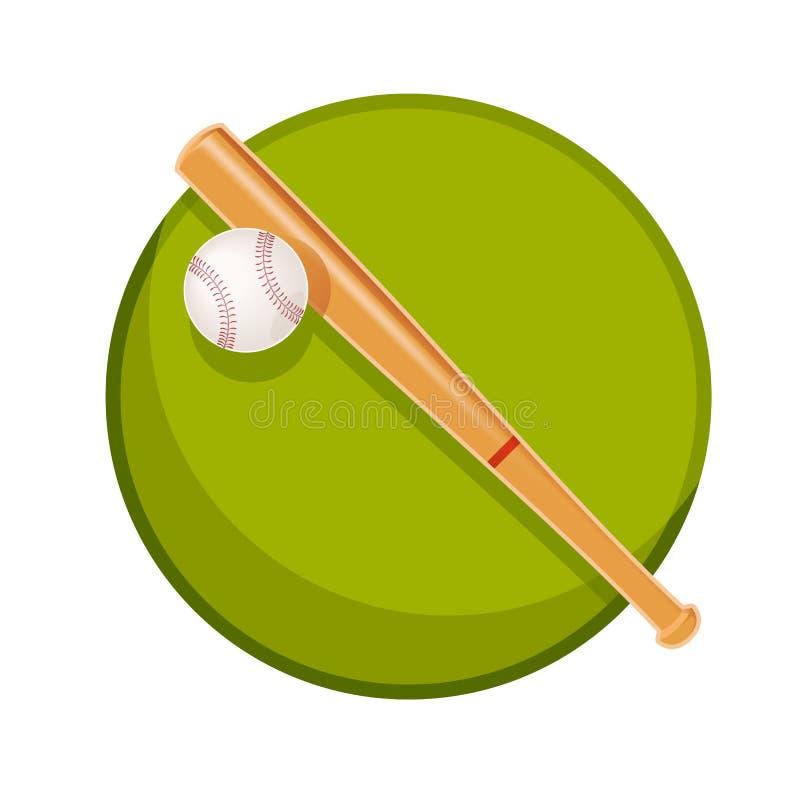 Baseballa materiał ilustracji