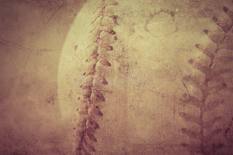 Baseballa rocznika tło zdjęcie stock