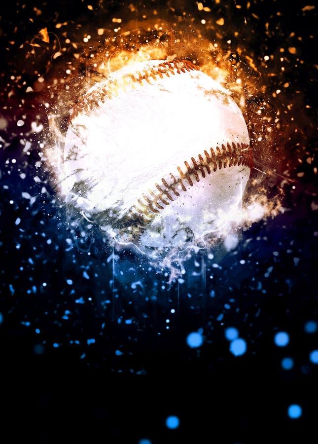 Baseballa tło obrazy stock