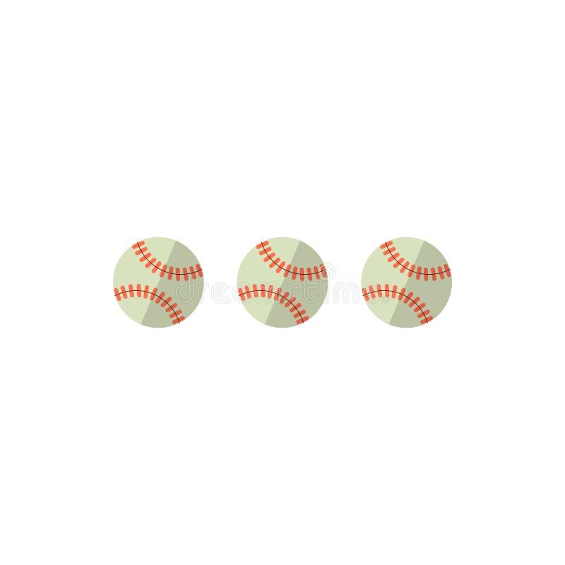 Baseballa wektoru ilustracja ilustracji