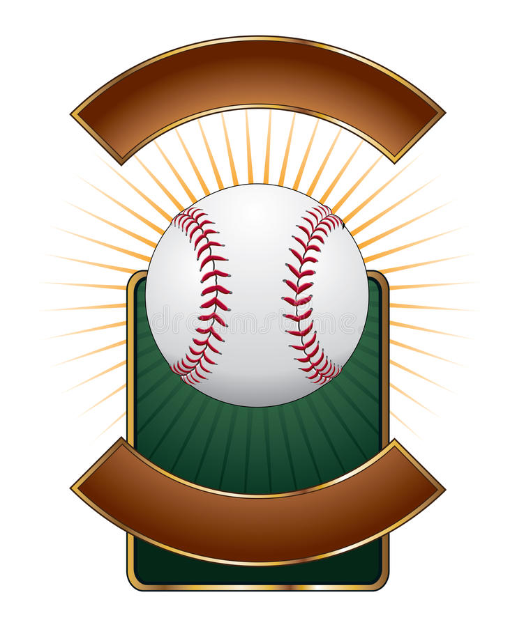 baseballa wybuchu projekta szablon ilustracji