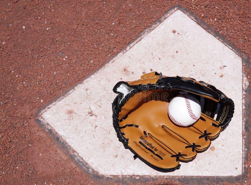 Baseballausrüstung. lizenzfreies stockbild
