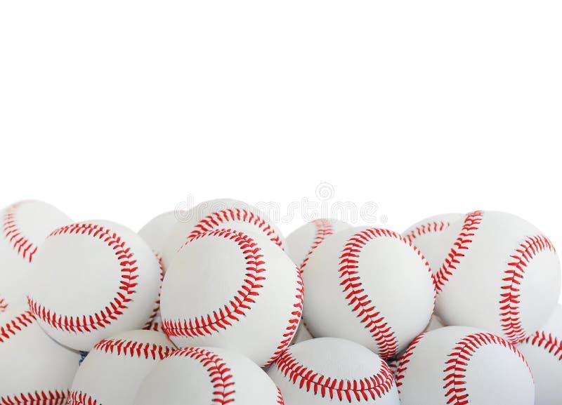 Baseballe odizolowywający zdjęcia royalty free