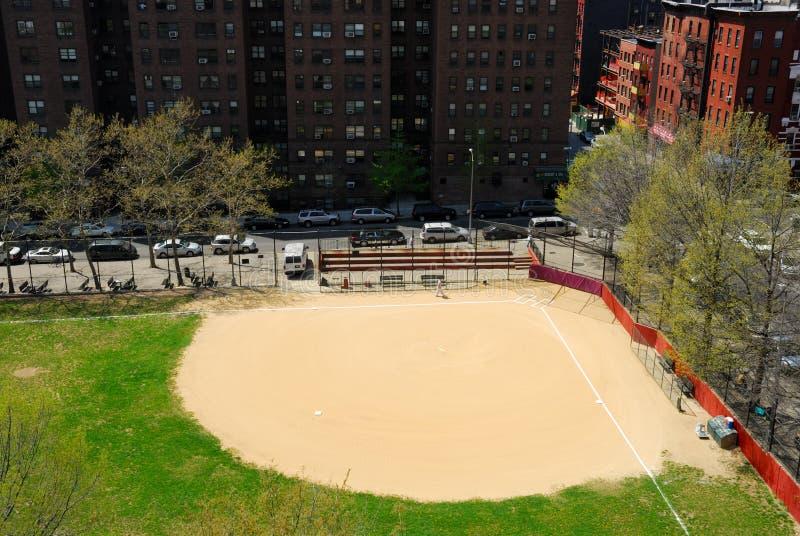 baseballfält New York fotografering för bildbyråer