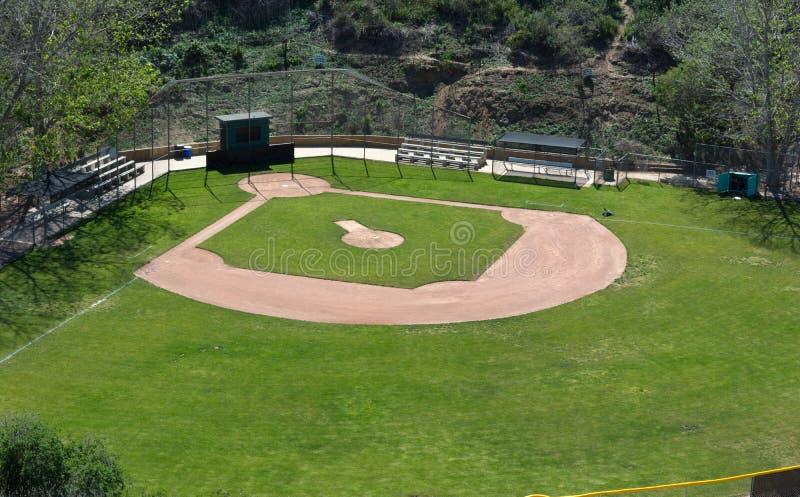 baseballfältliga little arkivfoto