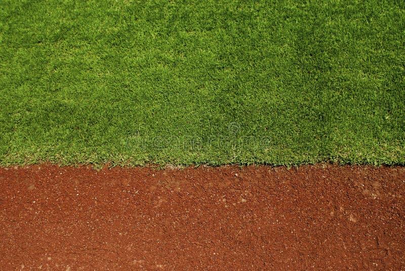 Baseballfeld stockfoto
