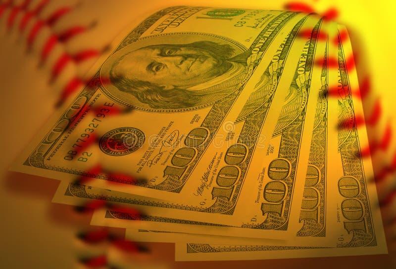 Baseballgeschäft lizenzfreies stockfoto