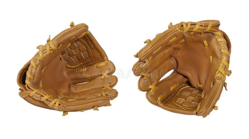 Baseballhandschuhe stockbild