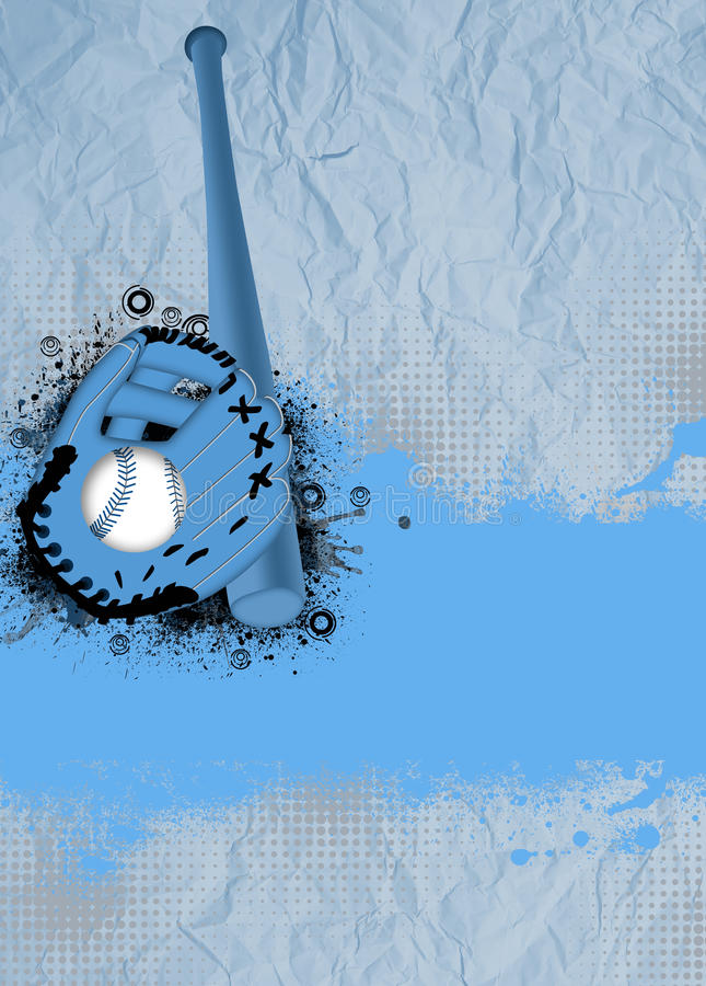 Baseballhintergrund vektor abbildung