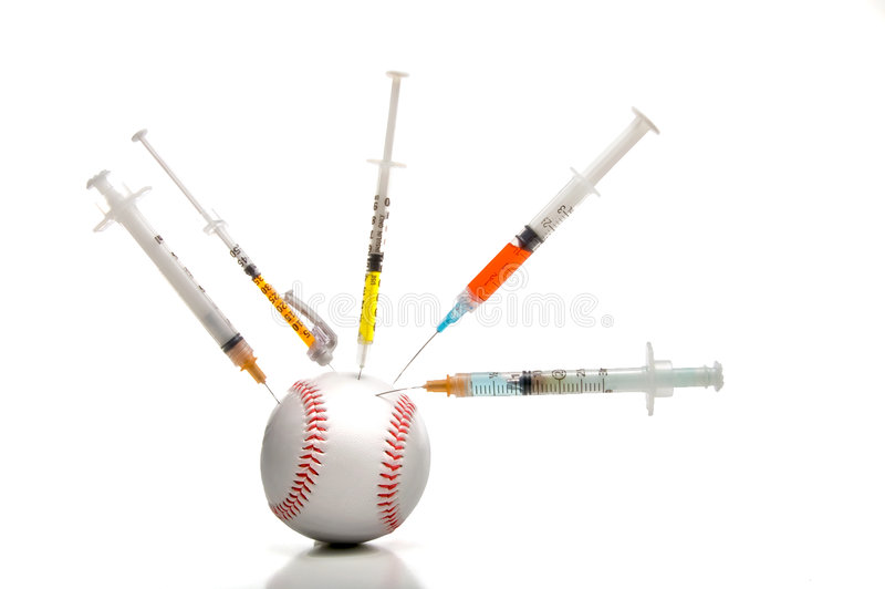 baseballi sterydów fotografia stock