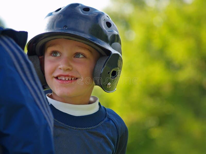 Baseballjunge lizenzfreies stockbild