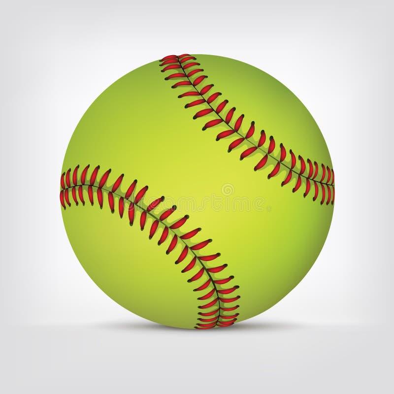 Baseballkugel lizenzfreie abbildung