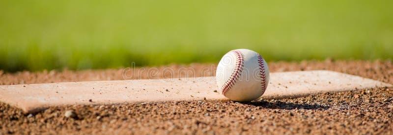 baseballmound royaltyfria bilder