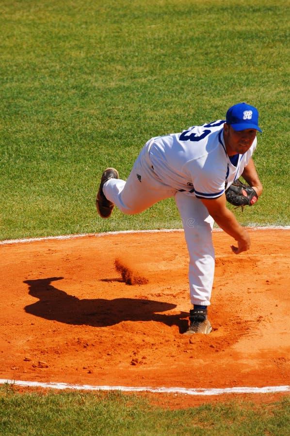 Baseballspiel stockfotografie