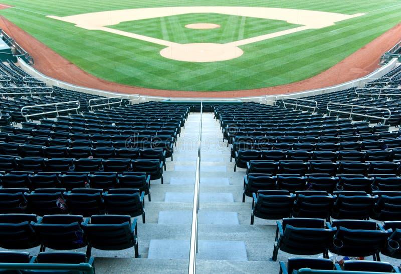 Baseballstadion stockfotografie