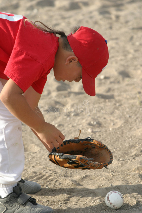 baseballunge arkivbilder