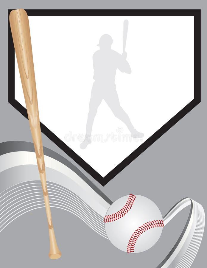 Basebol ilustração do vetor