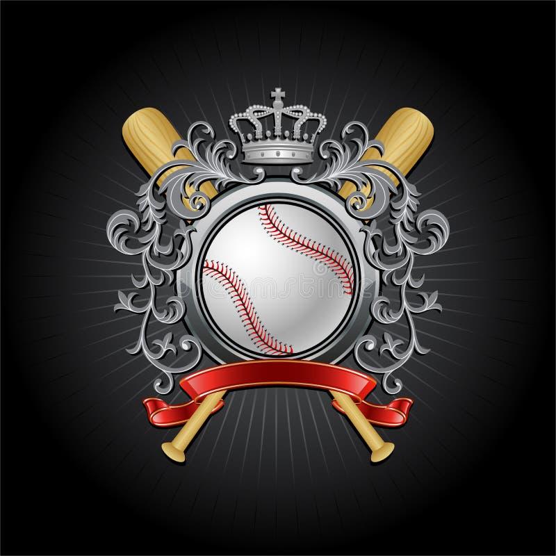 Basebol ilustração royalty free