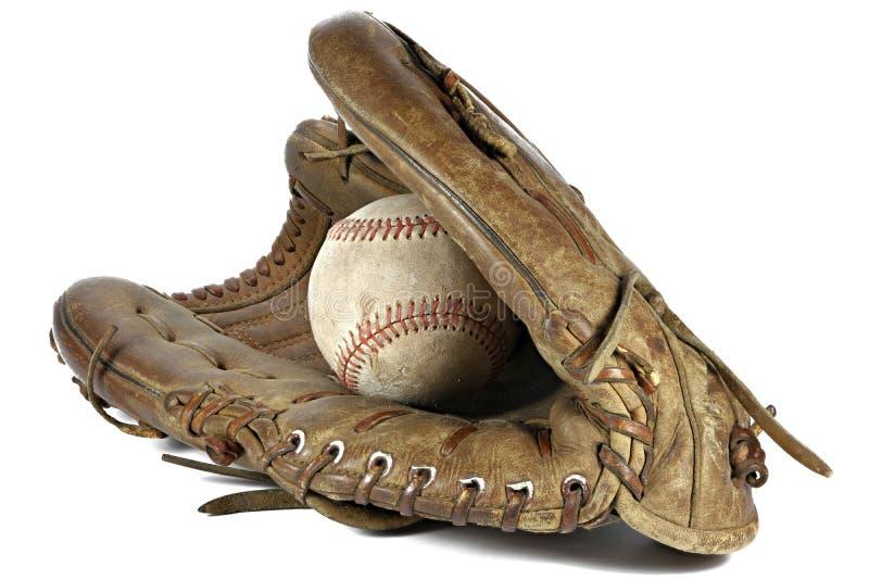 Basebol e luva imagem de stock royalty free