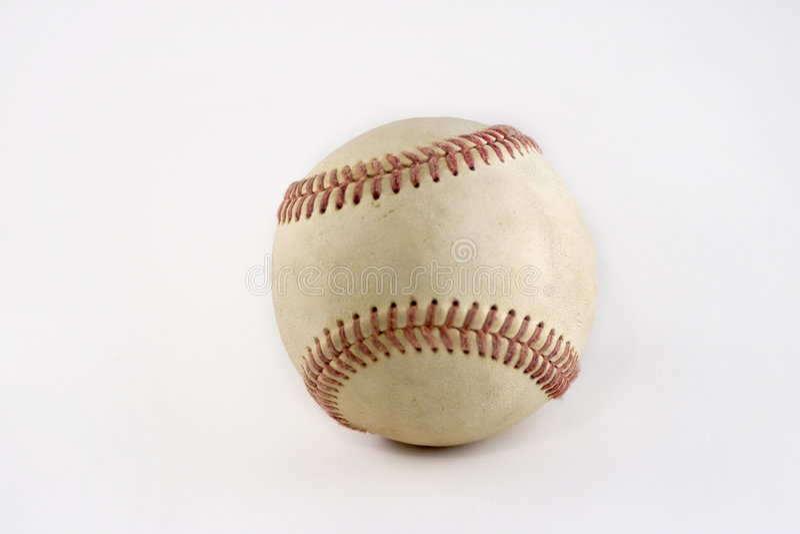 Basebol sujo fotos de stock royalty free