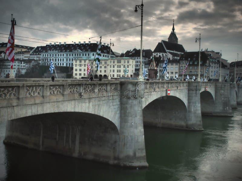 Basel - die Schweiz 2019 stockfotografie