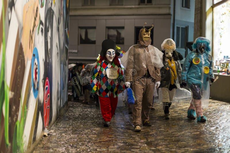 Basel karnawał 2017 obrazy stock