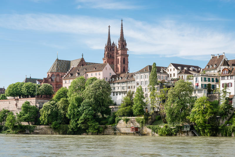 Basel katedra zdjęcia stock