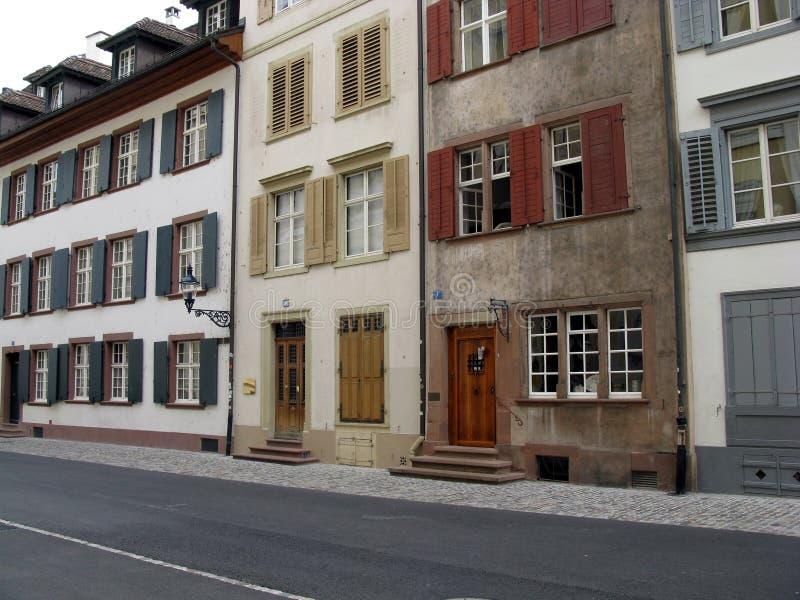 basel Switzerland fotografia stock