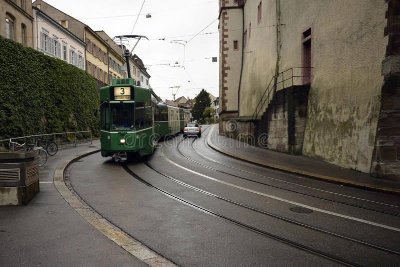 Basel - uliczny widok obrazy stock