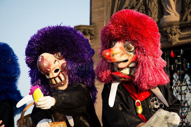 Baselkarneval royaltyfri foto