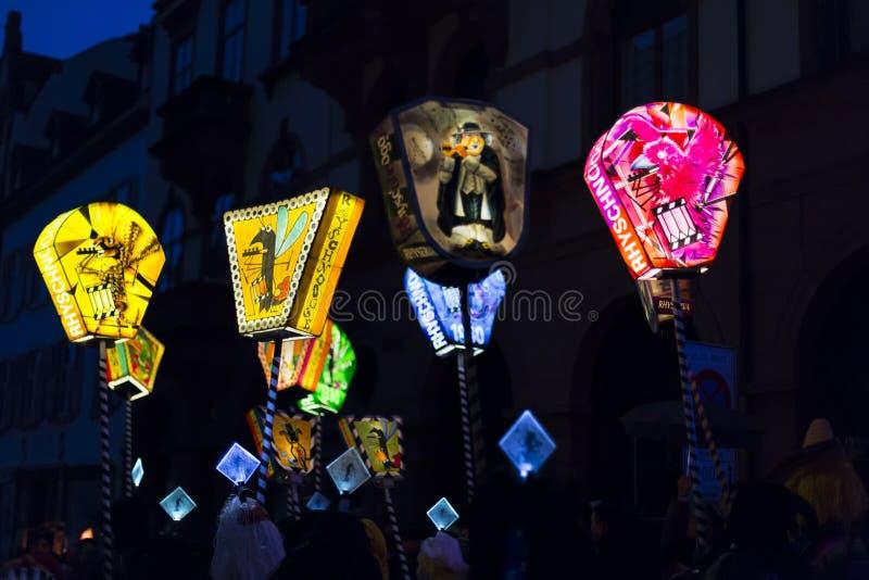 Baselkarneval 2017 royaltyfria foton