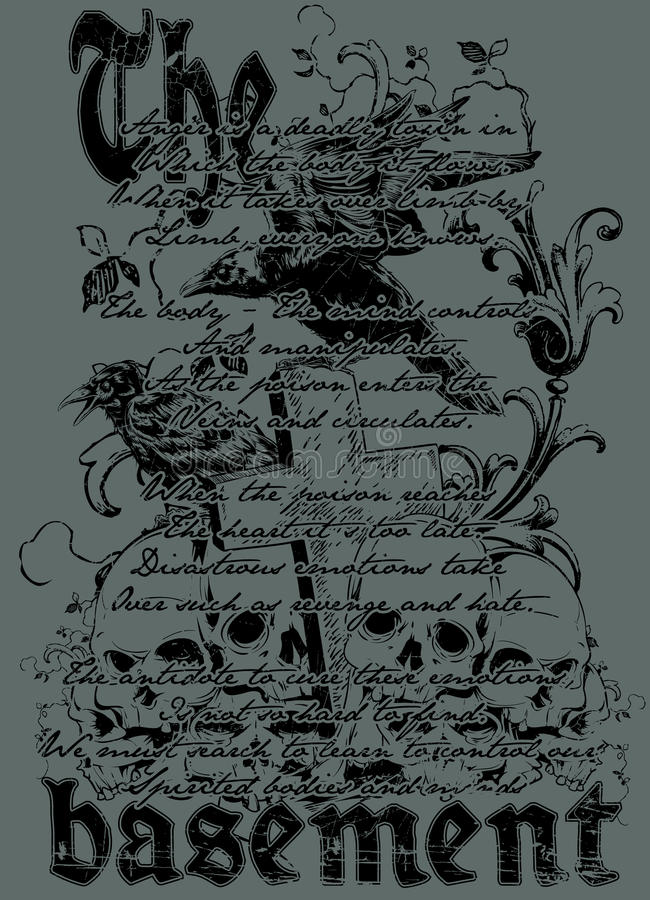The basement. Illustration design available in vector format stock illustration