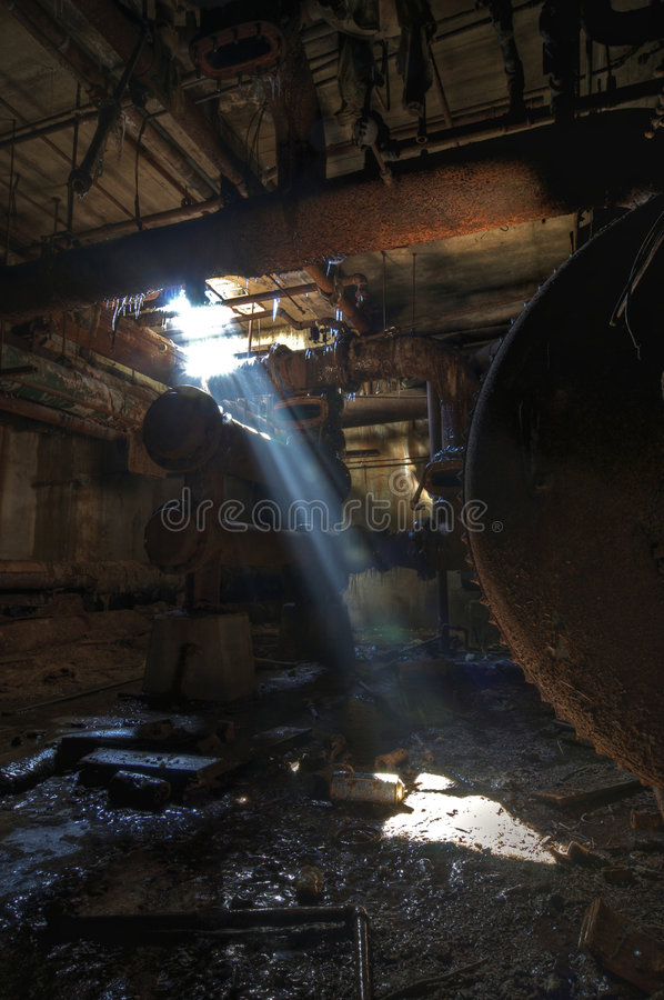 Download Basement Light stock photo. Image of debris, daylight - 8980098