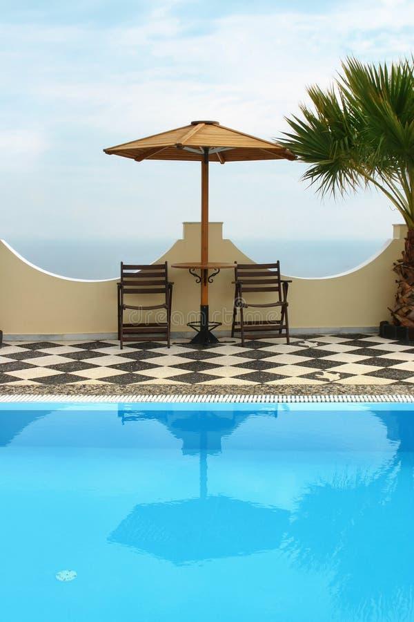 basen hotelowy fotografia royalty free