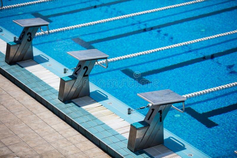 basen olimpijski opływa obrazy royalty free