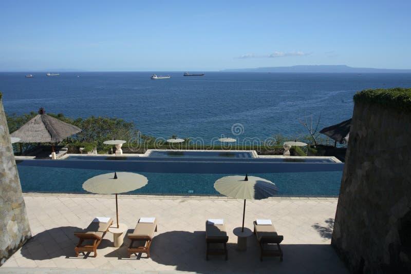 basen pływania widok zdjęcie royalty free