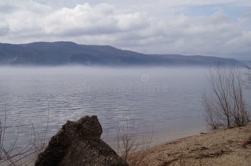 basen refleksje dymu wody fotografia stock