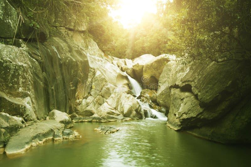 basen wodospadu obrazy royalty free
