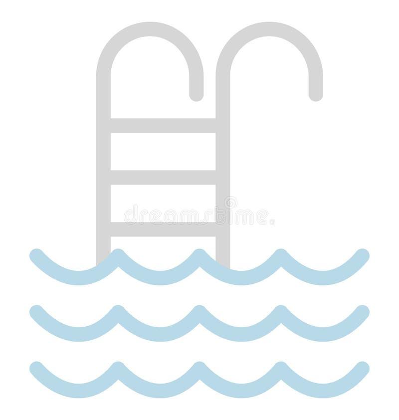 Basenu kolor Odizolowywał Wektorową ikonę która może łatwo redagować lub modyfikować ilustracja wektor