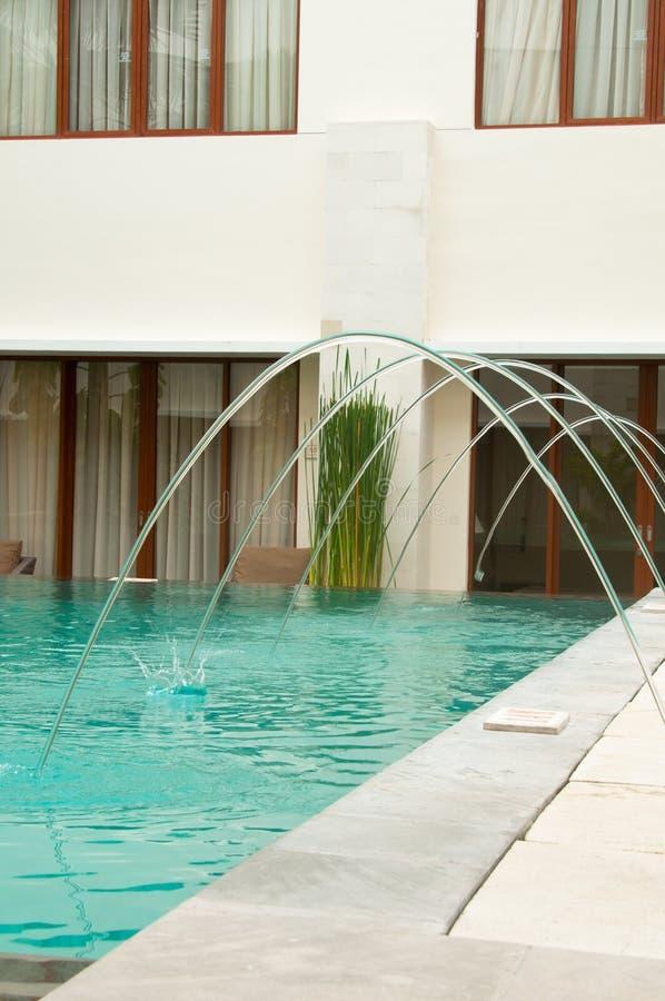 basenu siedziby dopłynięcie obraz royalty free